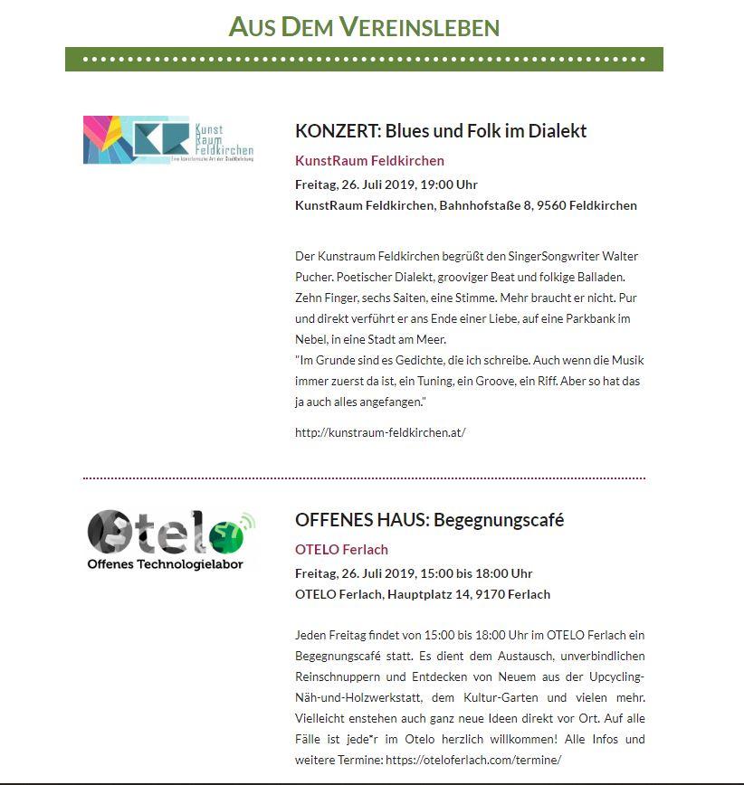 Newsletter 092019 Bildungswerk Kärnten